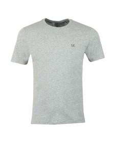 C.P. Company Mens Grey Printed Goggle T Shirt