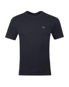 C.P. Company Mens Blue Printed Goggle T Shirt