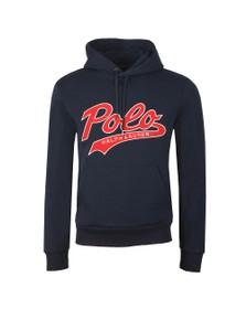 Polo Ralph Lauren Mens Blue Large Logo Overhead Hoody