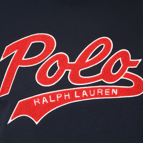 Polo Ralph Lauren Mens Blue Large Logo Overhead Hoody main image