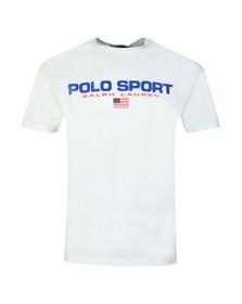Polo Ralph Lauren Sport Mens White Logo T Shirt