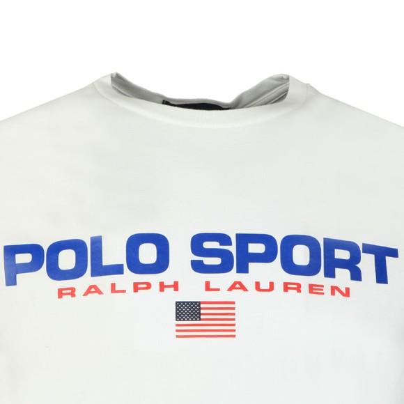 Polo Sport Ralph Lauren Mens White Logo T Shirt