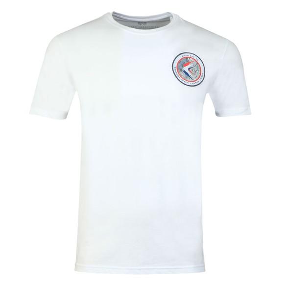 Alpha Industries Mens White Apollo 15 T-Shirt