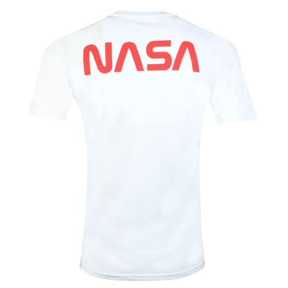 Alpha Industries Mens White Apollo 15 T-Shirt main image