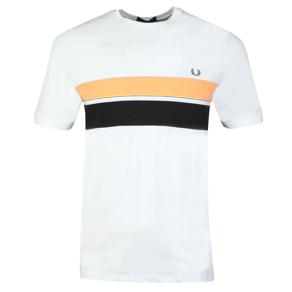 Striped Chest Panel Tee main image