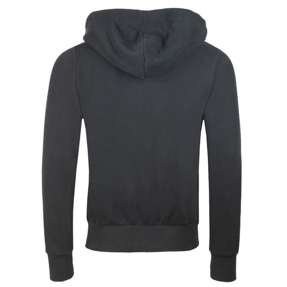True Religion Mens Black Hooded Zip Contrast Hoodie main image