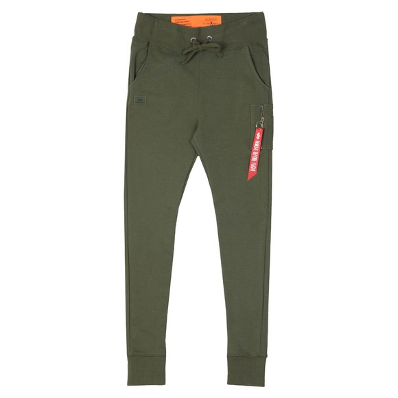 Alpha Industries Mens Green Slim Cargo Pant main image