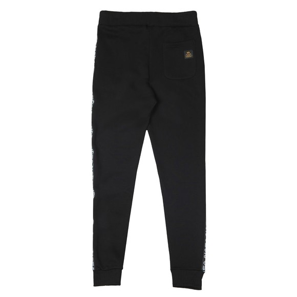 Alpha Industries Mens Black NASA Tape Jogger main image