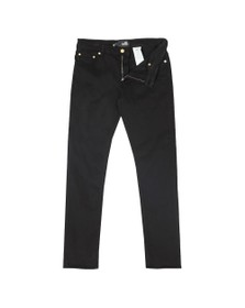Love Moschino Mens Black Small Logo Jean