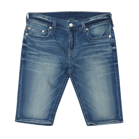 True Religion Mens Blue Rocco No Flap Short main image