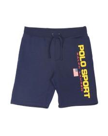 Polo Ralph Lauren Sport Mens Blue Side Logo Jersey Short