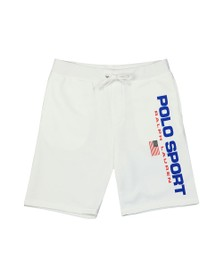 Polo Ralph Lauren Sport Mens White Side Logo Jersey Short