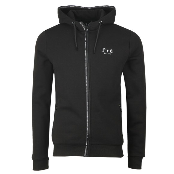 Pre London Mens Black Force Hoodie main image
