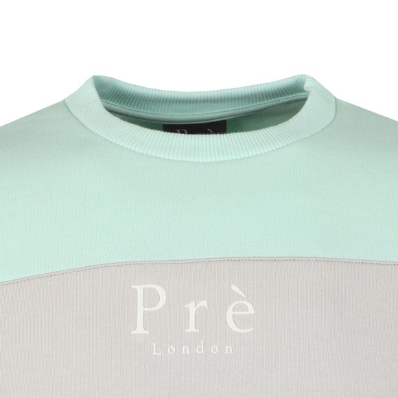 Pre London Mens Grey Eclipse Sweat main image