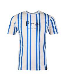 Pre London Mens Pink Bondi Stripe T-Shirt