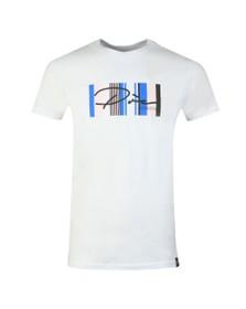 Pre London Mens White Surrey Script T-Shirt