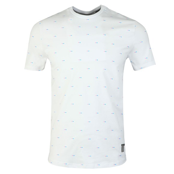 Eleven Degrees Mens White Solar All over Print Tee main image