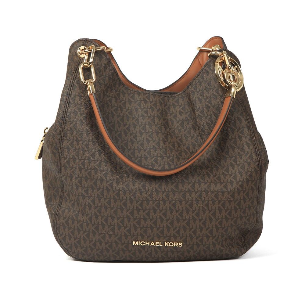 Lillie Large Chain Shoulder Tote main image