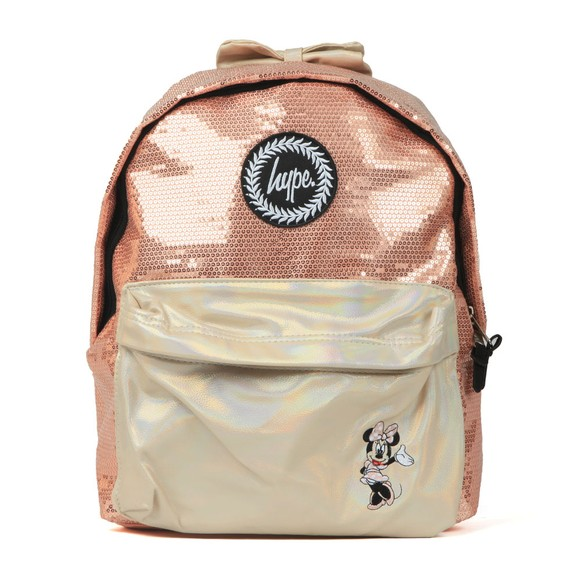 Hype Girls Pink Minnie Glam Backpack main image