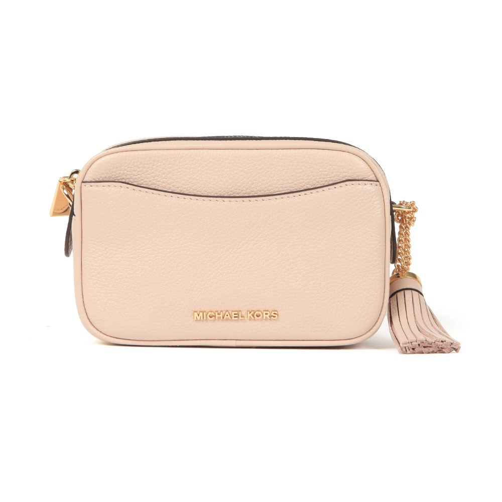 Crossbody Tassel Leather Bag main image