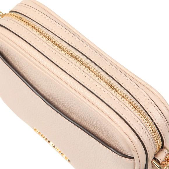 Michael Kors Womens Pink Crossbody Tassel Leather Bag main image
