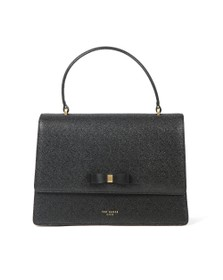 Ted Baker Womens Black Joaan Bow Detail Lady Bag