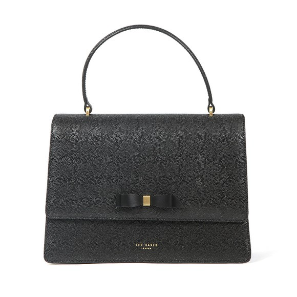 Ted Baker Womens Black Joaan Bow Detail Lady Bag main image