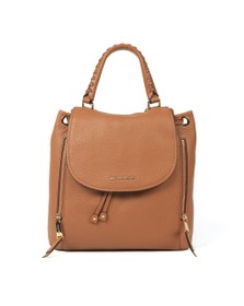 Michael Kors Womens Brown Viv Backpack