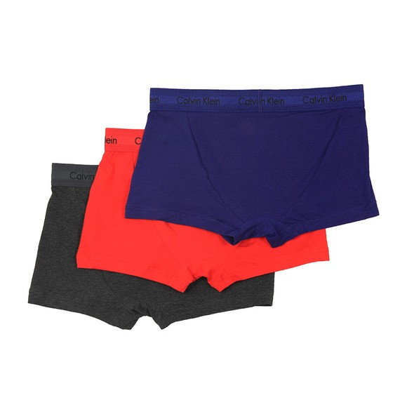 Calvin Klein Mens Red 3 Pack Trunks main image