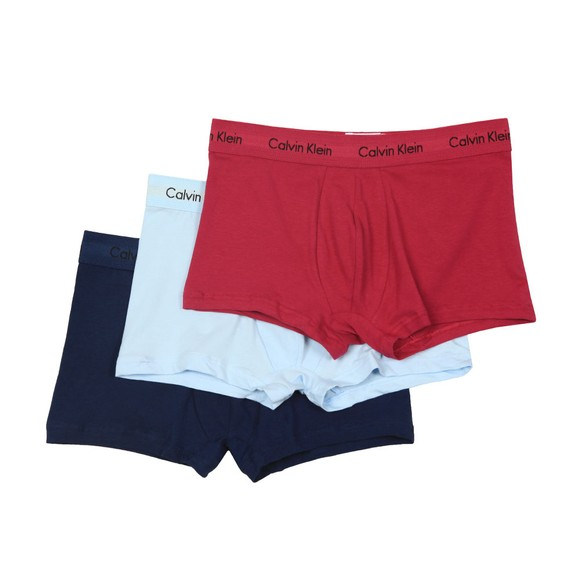 Calvin Klein Mens Blue 3 Pack Trunks main image