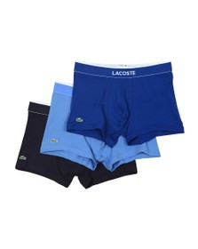 Lacoste Mens Blue 3 Pack Trunk