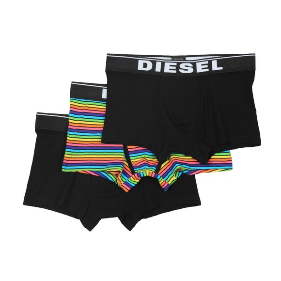Diesel Mens Black Damien 3 Pack Boxer main image