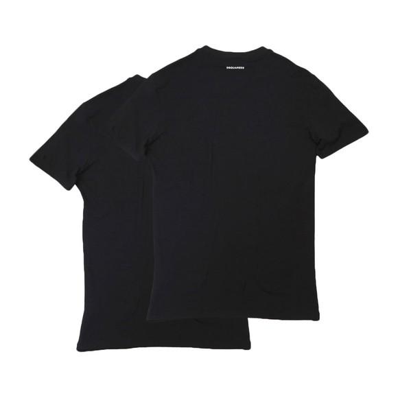 Dsquared2 Mens Black Twin Pack T Shirt