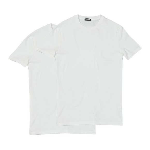 Dsquared2 Mens White Twin Pack T Shirt