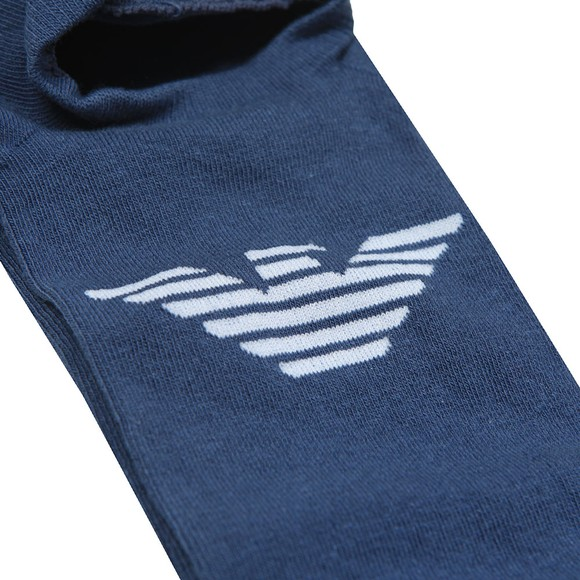 Emporio Armani Mens Blue Invisible Sock main image