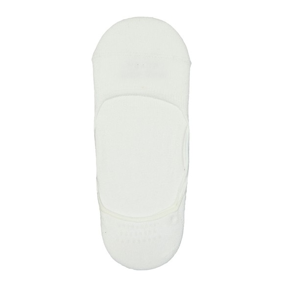 BOSS Bodywear Mens White 2 Pack Invisible Sock