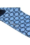 Ted Baker Mens Blue All Over Pattern Sock