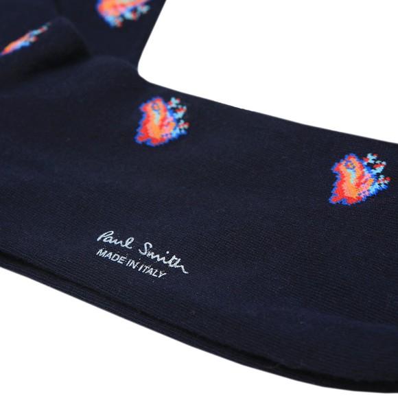 Paul Smith Mens Blue Dreamer Jacquard Sock