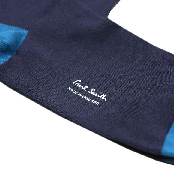 Paul Smith Mens Blue Dino Sock