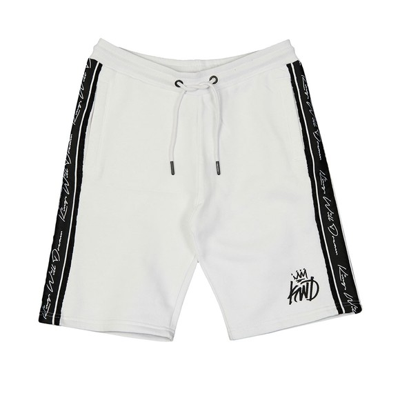 Kings Will Dream Mens White Cawdor Sweat Short main image