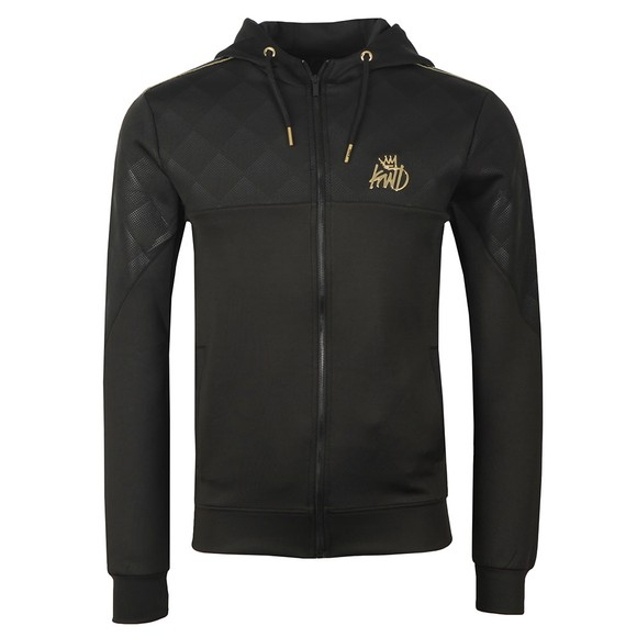 Kings Will Dream Mens Black Full Zip Hooded Sweat main image