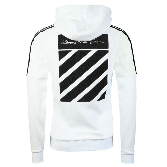 Kings Will Dream Mens White Cawdor Hooded Sweat main image