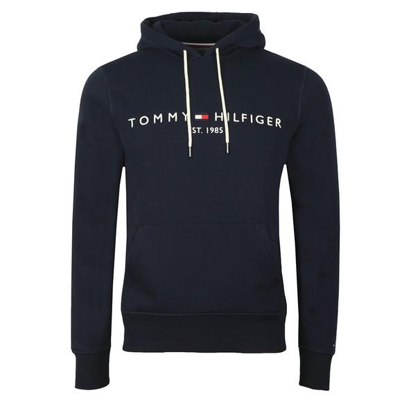 Tommy Hilfiger Mens Blue Logo Hood