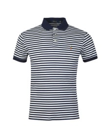 0ddf5451 Polo Ralph Lauren Mens White Pima Cotton Stripe Polo Shirt