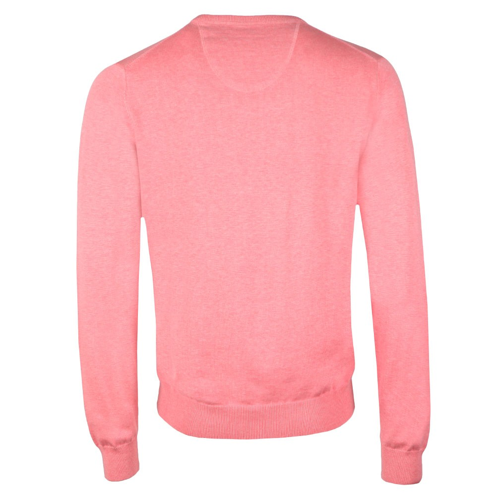 V Neck Superfine Cotton Jumper main image
