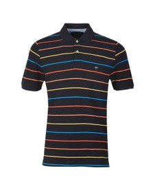 Fynch Hatton Mens Blue Stripe Polo