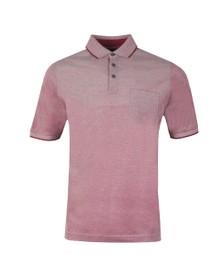 Fynch Hatton Mens Purple Pocket Polo