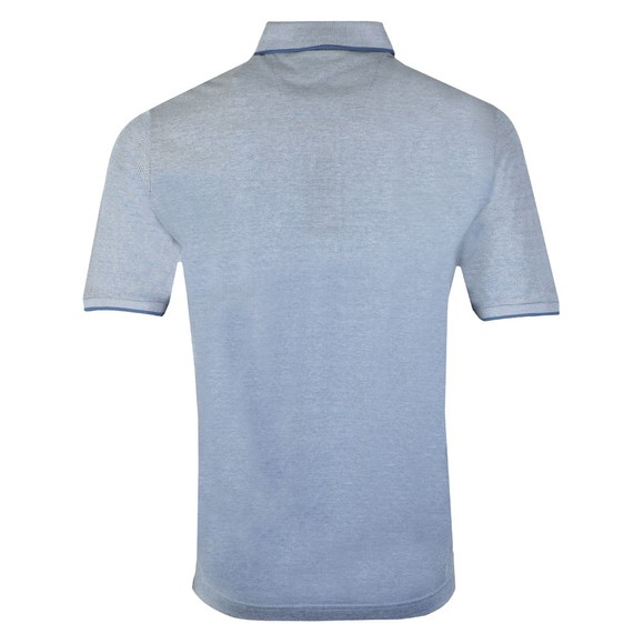 Fynch Hatton Mens Blue Pocket Polo main image