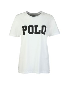Polo Ralph Lauren Womens White Big Polo T-Shirt