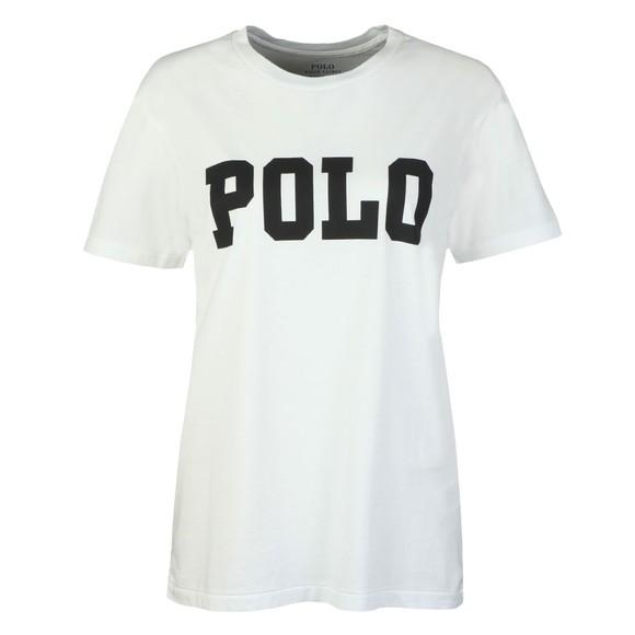 Polo Ralph Lauren Womens White Big Polo T-Shirt